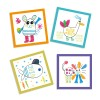Djeco комплект за рисуване Забавни животни