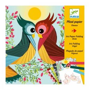 Djeco Комплект направи птици от хартия