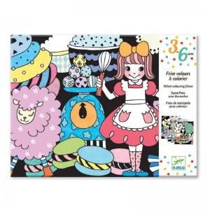 Djeco Кадифени картини парад на сладкишите