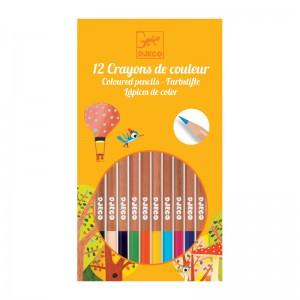 Djeco цветни моливи 12 цвята