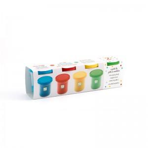 Djeco Комплект пластилини - 4 цвята