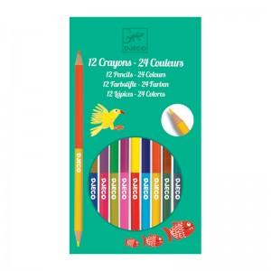 Djeco цветни моливи 24 цвята