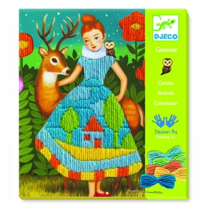 Djeco Картини за бродиране Dress