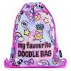 Fringoo спортна торба Holo Doodles