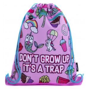Fringoo спортна торба Don't Grow Up