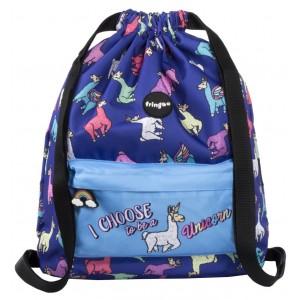 Fringoo спортна торба Llamacorn