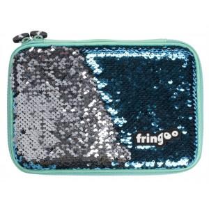Fringoo несесер с пайети Blue Arrow