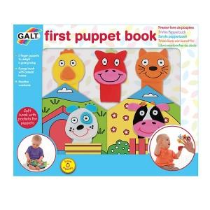 Galt Бебешка книжка с комплект кукли за пръсти