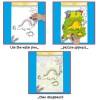 Galt  Рисувай с вода - Динозаври