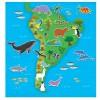 Galt Книжка със стикери за многократна употреба Животните по света