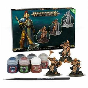 Warhammer 40K Age Of Sigmar Citadel Miniatures - Stormcast Eternals And Paint
