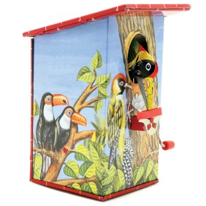 Tin Treasures Ламаринена касичка Greedy Bird