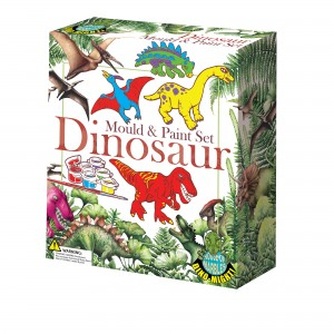 House of Marbles моделирай и оцвети - динозаври