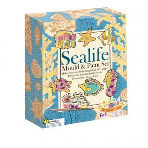 House of Marbles моделирай и оцвети - морски обитатели