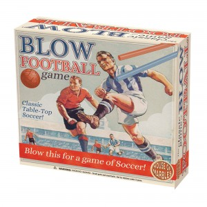 House of Marbles забавна игра Blow Football