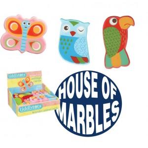 House of Marbles дървен маракас - животни