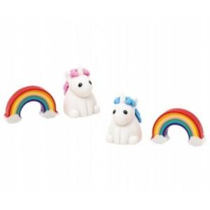 GOGOPO комплект гумички Unicorn & Rainbow