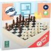 small foot малък дървен шах