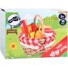 small foot кошница за пикник с плодове за рязане