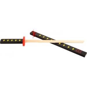 small foot дървен самурайски меч Катана