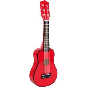 small foot дървена детска китара