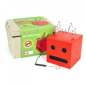 Ecotronic Toys Mr. Robot Head