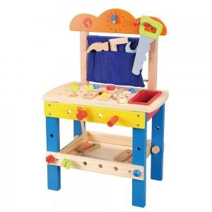 Lelin Toys Детска дървена работилница