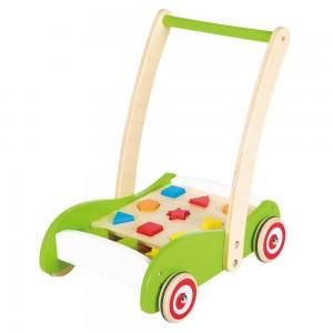 Lelin Toys Бебешка проходилка с форми за сортиране