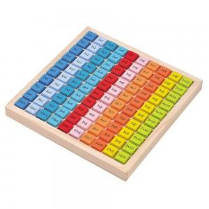 Lelin Toys Дървена таблица за умножение