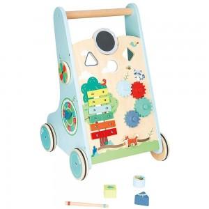 Lelin Toys Бебешка проходилка с часовник