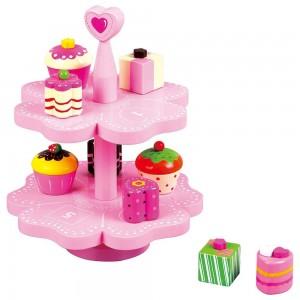 Lelin Toys Дървени магнитни кексчета