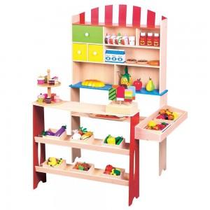 Lelin Toys Детски дървен магазин