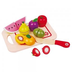 Lelin Toys Дървени плодове за рязане