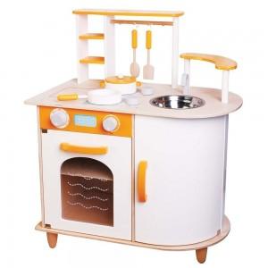 Lelin Toys дървена кухня Алисия