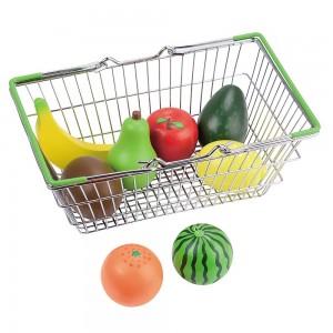 Lelin Toys Детска кошница за пазар с плодове