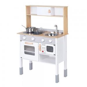 Lelin Toys Детска дървена кухня Малкият готвач