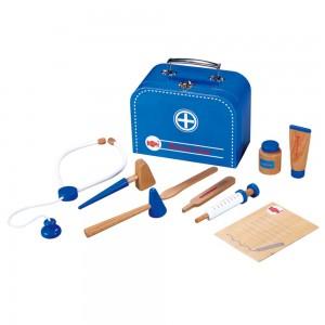 Lelin Toys Докторски комплект в куфар