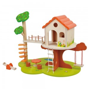 Lelin Toys Детска къща на дърво