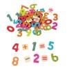 Lelin Toys дървени магнитни цифри