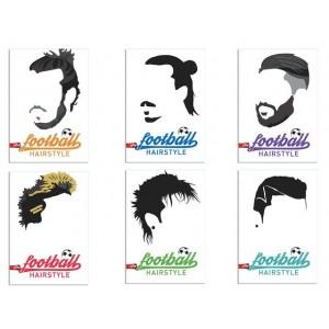 Тетрадка А4 Football Hairstyles