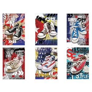 Тетрадка А4 Sneakers