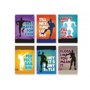 Тетрадка А4 Dance Moves