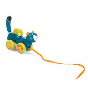 Moulin Roty Играчка за дърпане - пантера