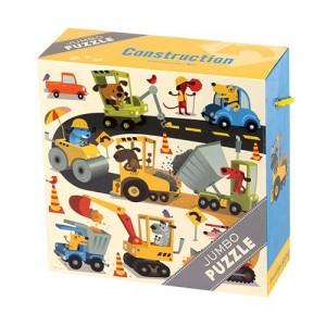 Mudpuppy превозни средства Jumbo Puzzle