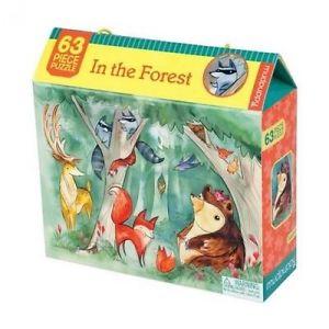 Mudpuppy пъзел горски животни 63 елемента