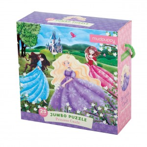 Mudpuppy принцеси Jumbo Puzzle