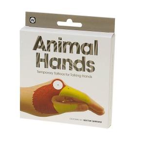 npw временни татуировки животински ръце