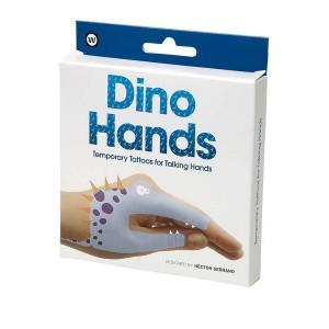 npw временни татуировки динозавърски ръце