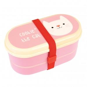 COOKIE THE CAT кутия за храна на 3 нива