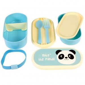 MIKO THE PANDA кутия за храна на 3 нива